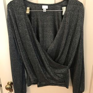A New Day Wrap Top